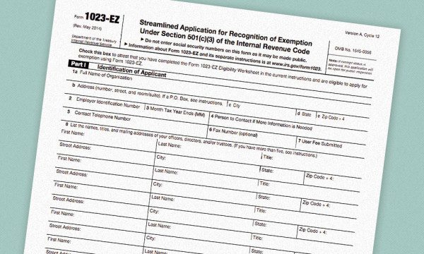 Good News For Those Applying For 501(C)(3) Exemption