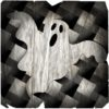 Vector illustration of a ghost